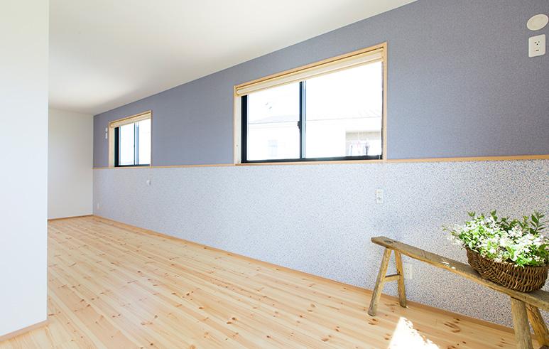 焼杉×本漆喰 和モダンの家4