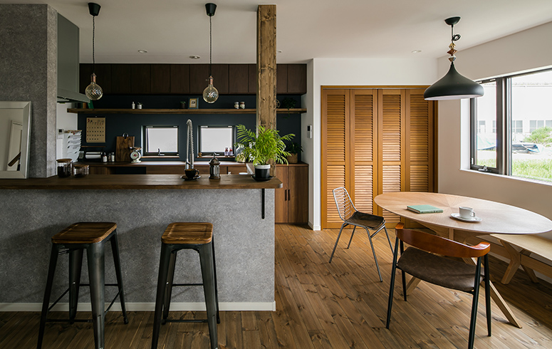 シンプルデザインの家2