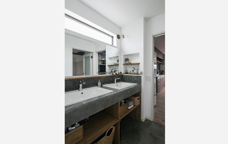シンプルデザインの家5