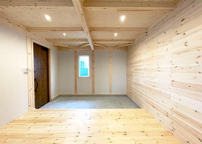 広々土間スペースがある開放感を感じられる平屋2
