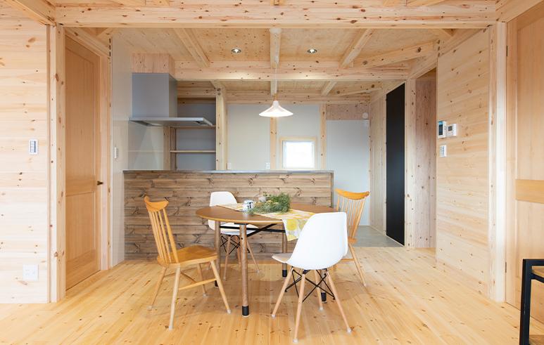 広々土間スペースがある開放感を感じられる平屋3