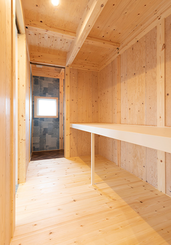 広々土間スペースがある開放感を感じられる平屋5