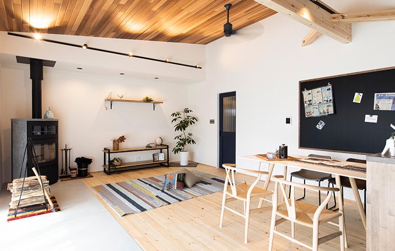 楽家事動線とワーキングスペースの快適平屋HOUSE2